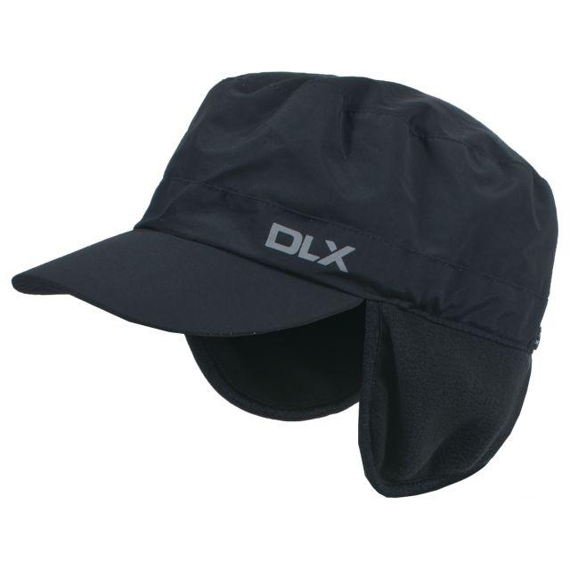 Trespass Adults DLX Waterproof Cap in Black Rupin