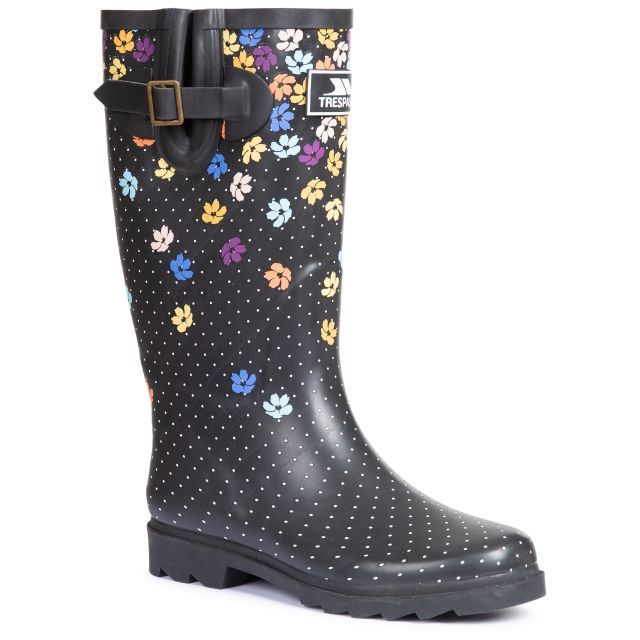 Trespass Womens Welly Boot Samira - DYP, Angled view of footwear