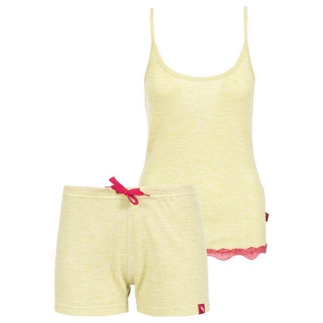 Trespass Women's Sleevless Thermal Set Sashay in Yellow