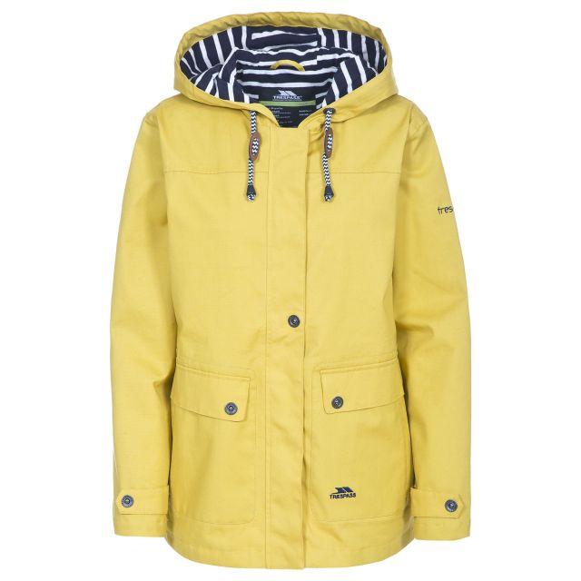 Seawater Women's Waterproof Jacket in Yellow