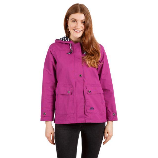 Seawater Women's Waterproof Jacket in Purple