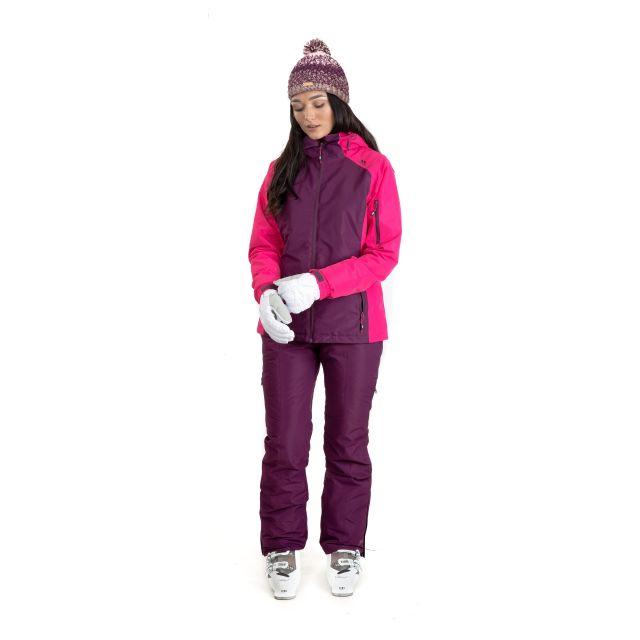 Sheelin Women's Waterproof Ski Jacket in Purple