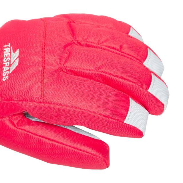 Simms Kids' Ski Gloves in Red