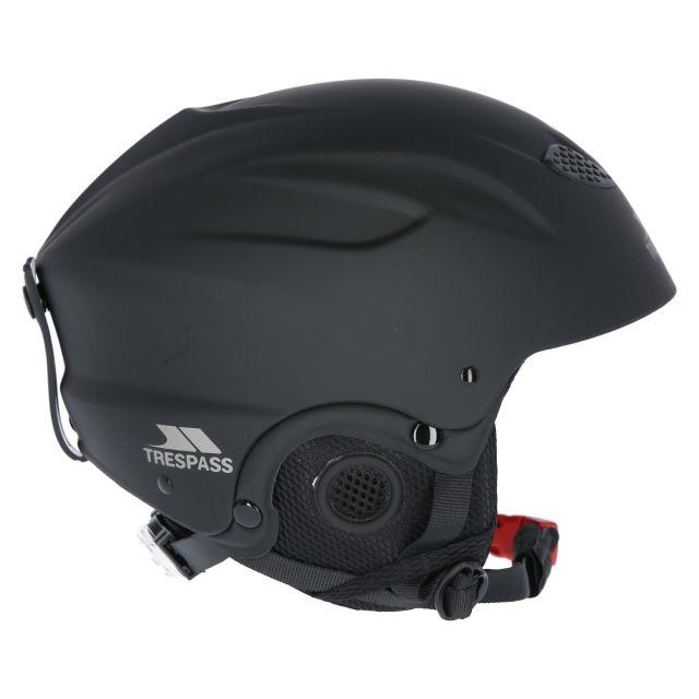 Trespass Unisex Ski Helmet in Black Skyhigh