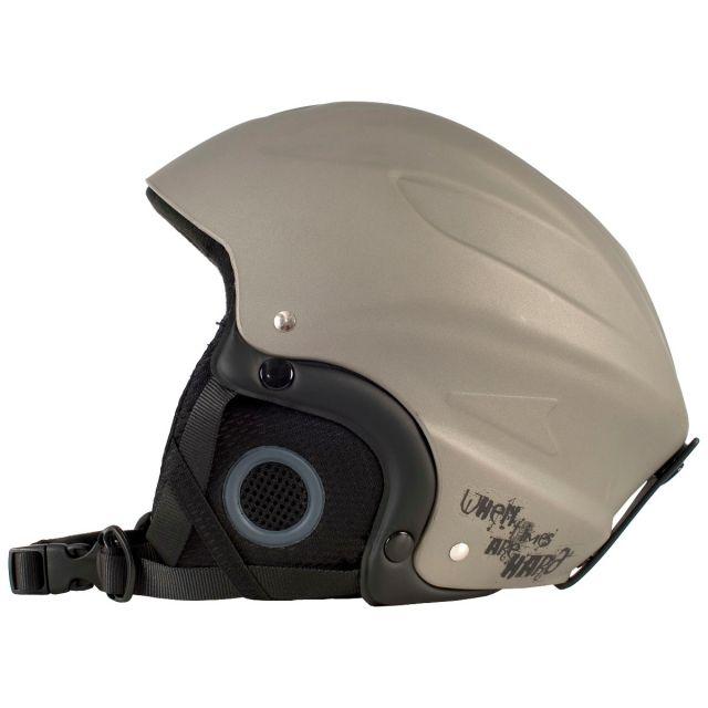 Trespass Unisex Ski Helmet in Titanium Skyhigh