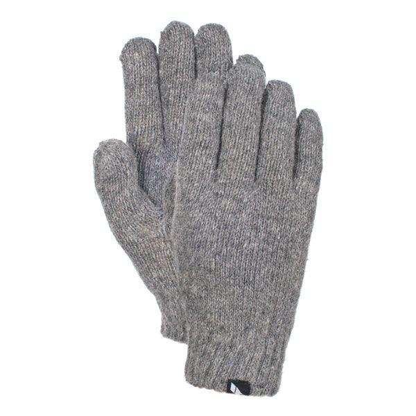 Manicure Women's Knitted Gloves in Light Grey