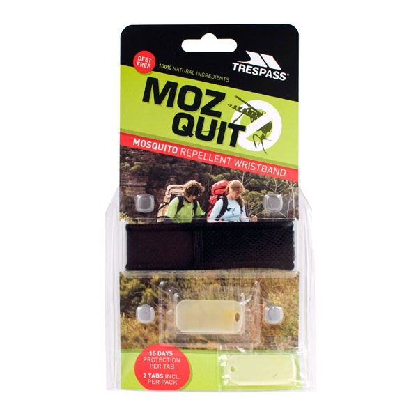 Mosquito Repellent Wristband in Black