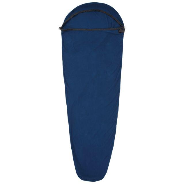 Snug Thermal Sleeping Bag Liner in Navy, Front view