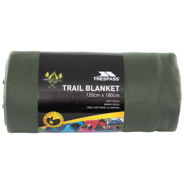 Fleece Blanket 120 x 180cm in Khaki