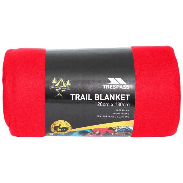 Fleece Blanket 120 x 180cm in Red