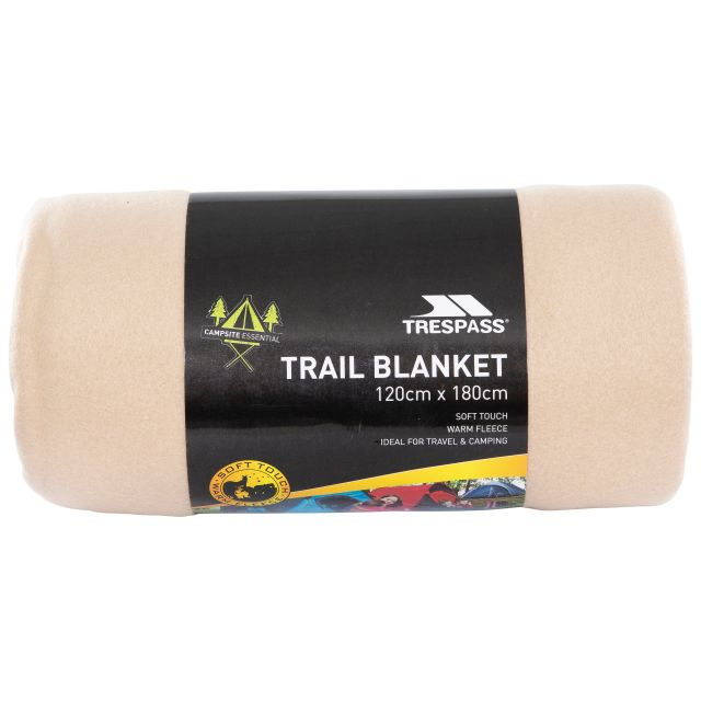 Fleece Blanket 120 x 180cm in Beige