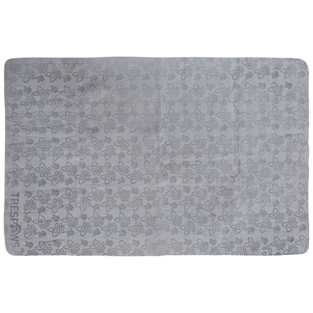Sooty Chamois Dog Towel in Grey