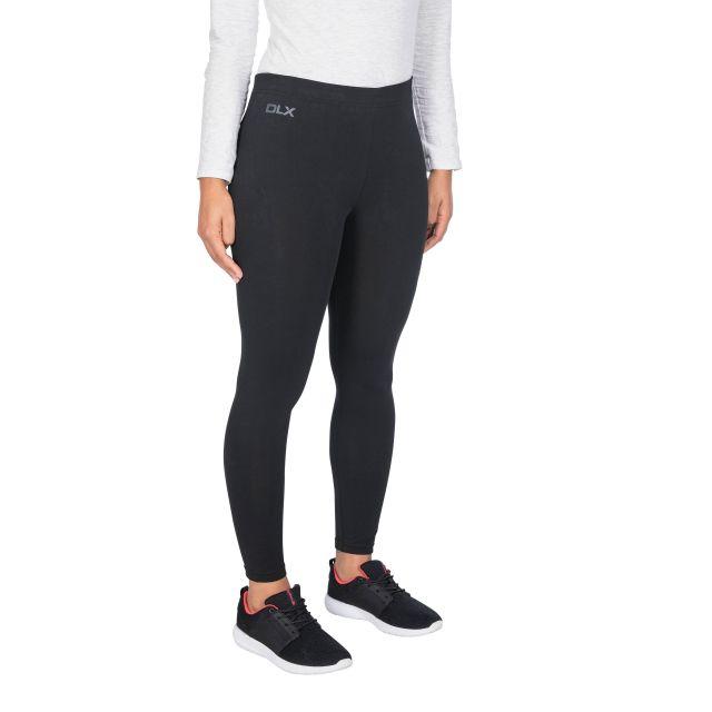 Splits Women's DLX Knitted Active Leggings in Black