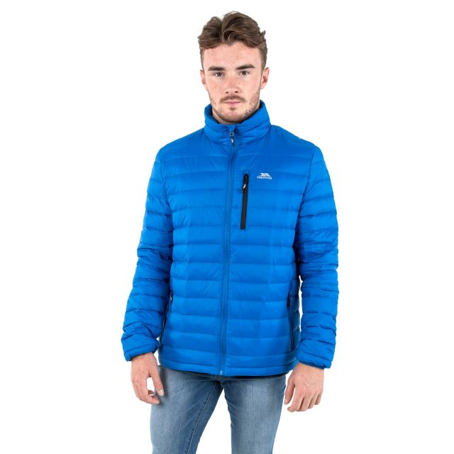 Stellan Men's Lightweight Down Jacket in Blue