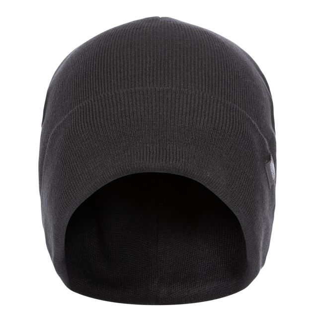 Trespass Adults Beanie Hat in Black Stines