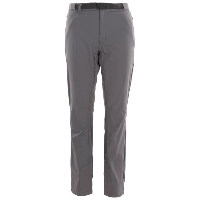 Stormlight Women's Quick Dry Walking Trousers in Grey, Front view on mannequin