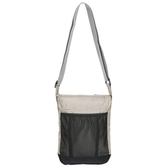 Trespass 2.5L Shoulder Bag in Beige Strapper