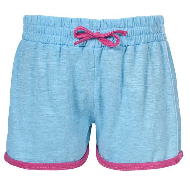 Trespass Girls Shorts in Light Blue Sunnyday