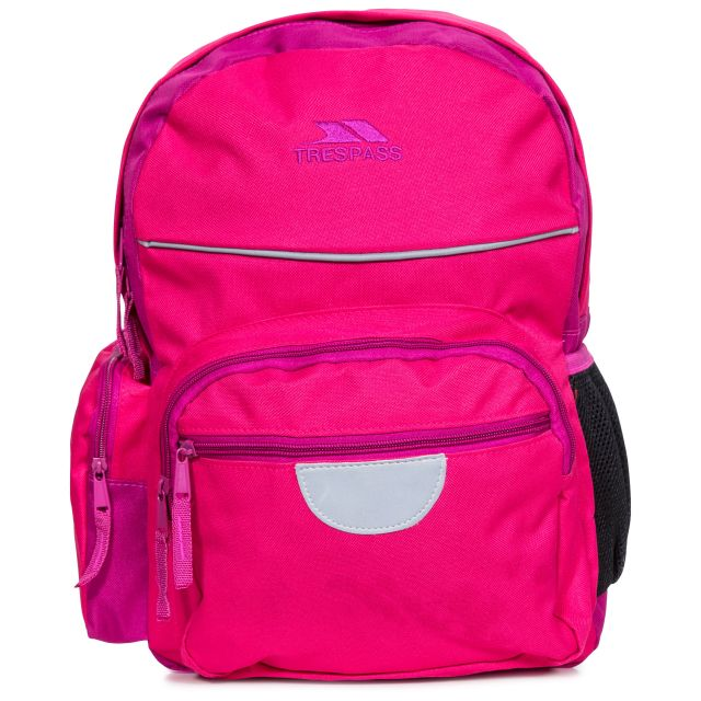 Swagger Kids' Pink School Bag, Back view