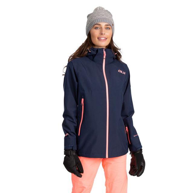 Tammin Women's DLX Waterproof Ski Jacket in Navy