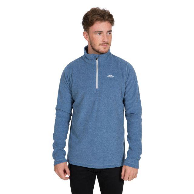 Tandle Men's 1/2 Zip Fleece in Blue