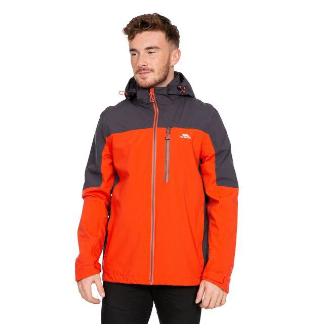 Tappin Men's Waterproof Jacket in Flame