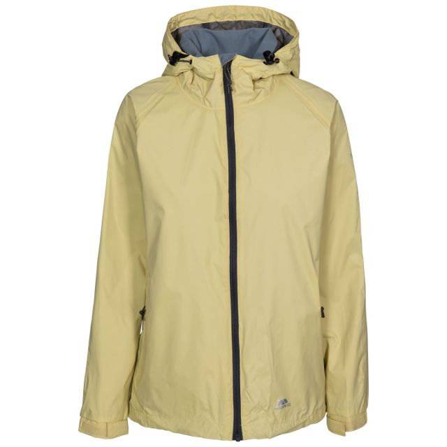 Tayah II Women's Waterproof Jacket in Green, Front view on mannequin