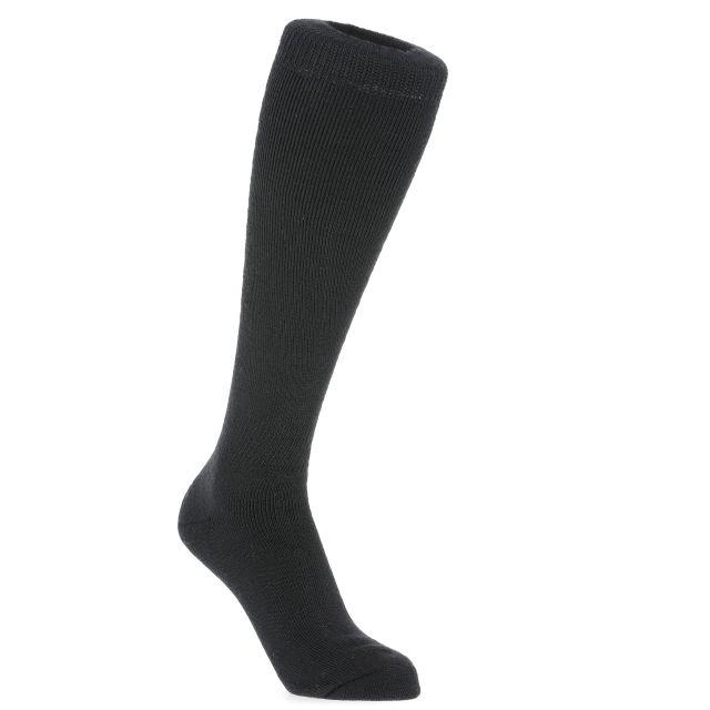 Trespass Unisex Tube Socks in Black Tech