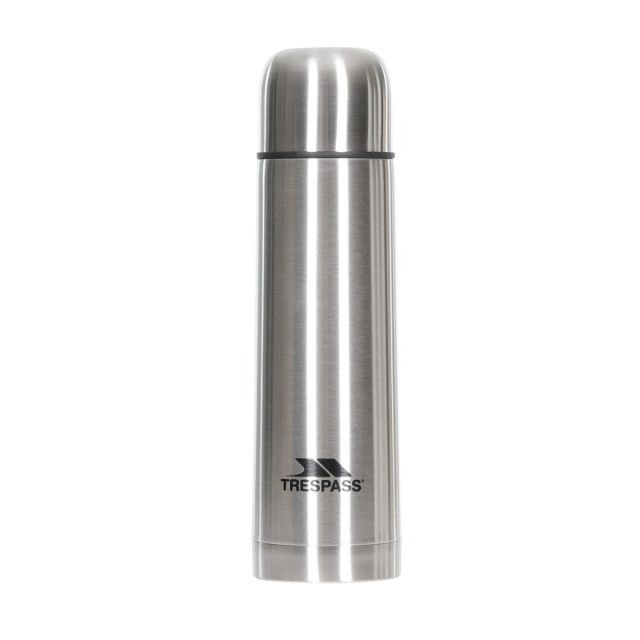 Stainless Steel Flask 500ml in Light Grey