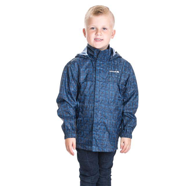 Totam Kids' Waterproof Packaway Jacket  in Blue