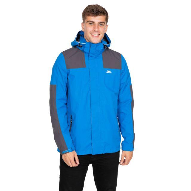 Trolamul Men's Waterproof Jacket in Blue