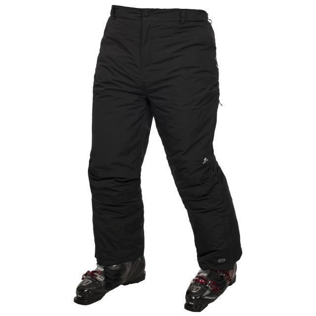 Trespass Adults Black Ski Pants in Black Contamines