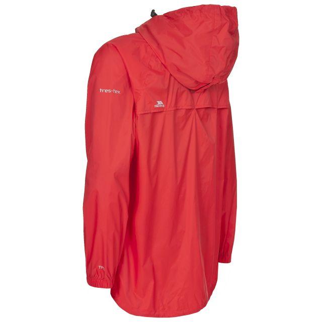 Trespass Adults Waterproof Packaway Jacket in Orange Qikpac