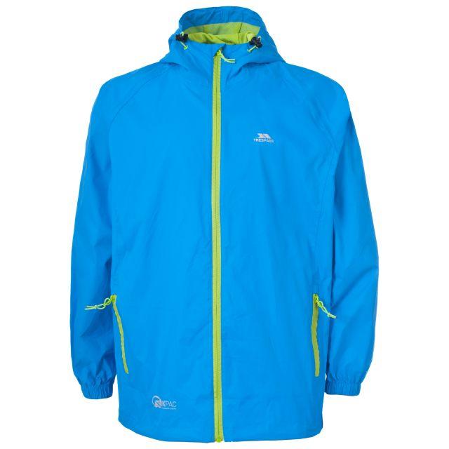 Qikpac Kids' Waterproof Packaway Jacket in Blue