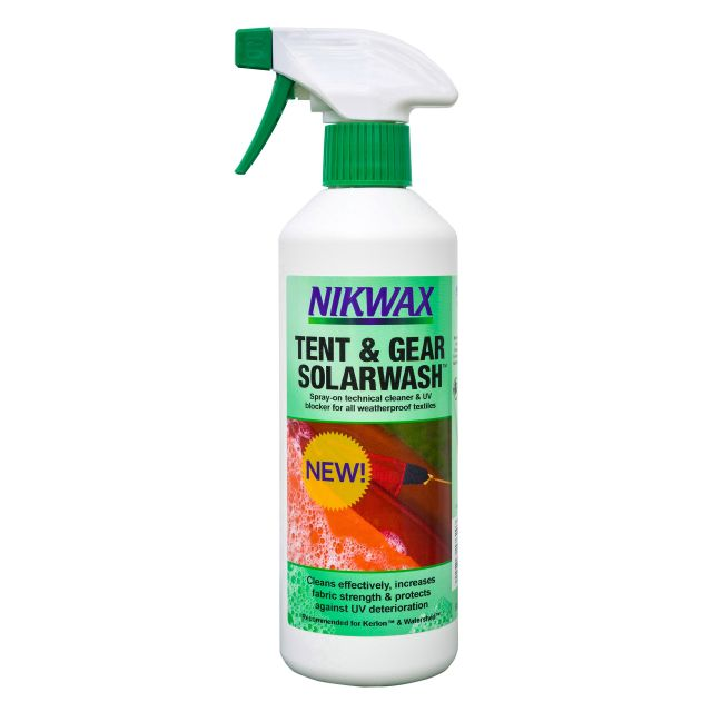 Nikwax Tent & Gear SolarWash Spray On Cleaner in Assorted