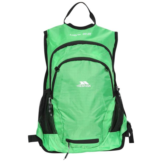 Ultra 22L Cycling Hydration Backpack in Green, Front view
