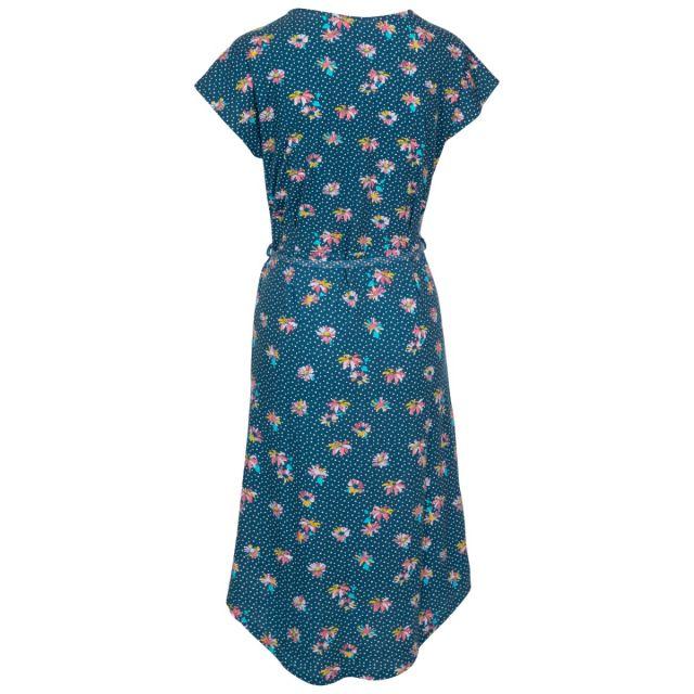 Una Women's Short Sleeve Dress in Blue