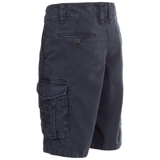 Usmaston Men's Cotton Cargo Shorts in Navy