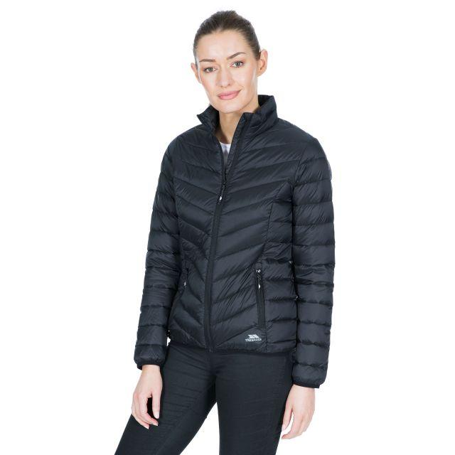 Valentina Women's Down Jacket in Black