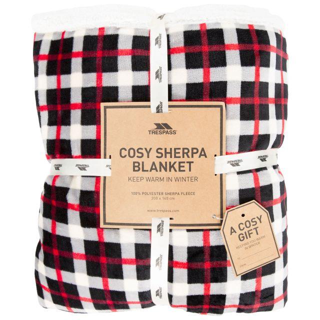 Vallon Sherpa Blanket in Red