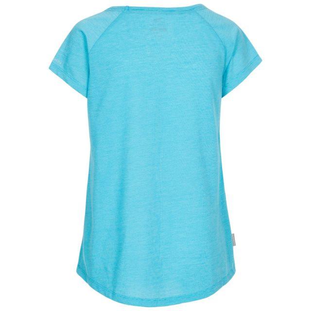 Trespass Women's Casual Short Sleeve T-Shirt Vera Blue