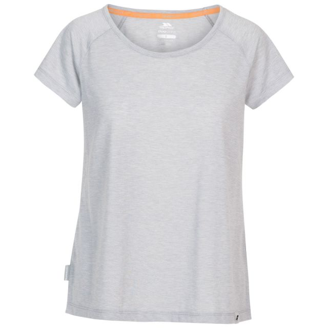 Trespass Women's Casual Short Sleeve T-Shirt Vera - PMR, Front view on mannequin