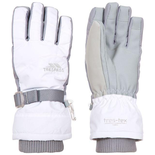 Vizza II Adults' Ski Gloves in White