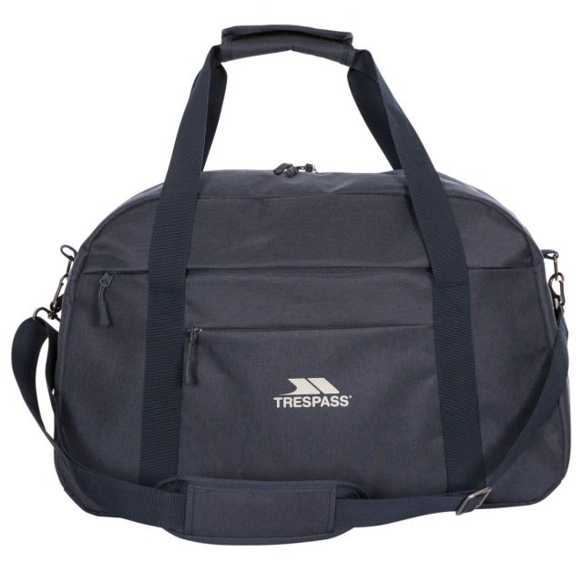 Travel Duffle Bag in Navy, Front view