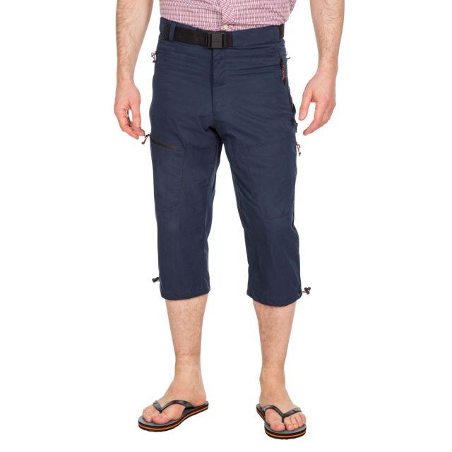 Wellbake Men's 3/4 Length Trousers in Navy