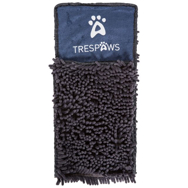 Willow Trespaws Dog Drying Towel - CBN, Tent detail