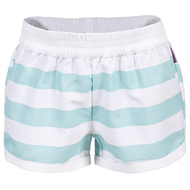 Trespass Kids Printed Summer Shorts in Navy Wini