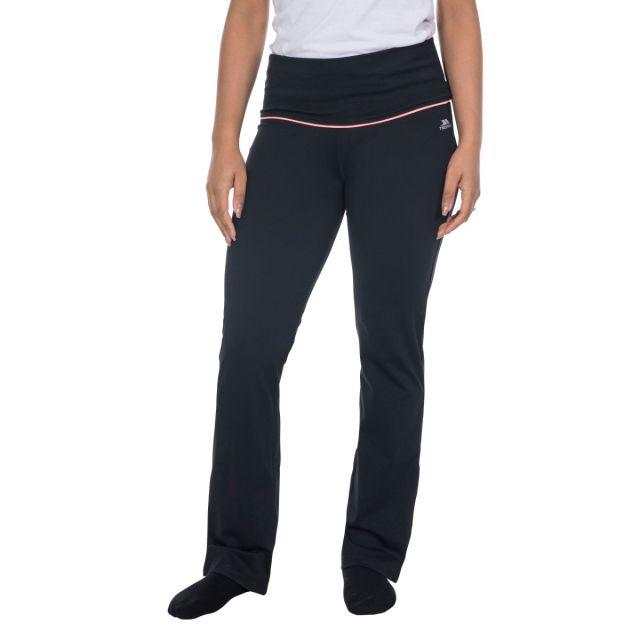 Zada Women's Quick Dry Yoga Pants in Black