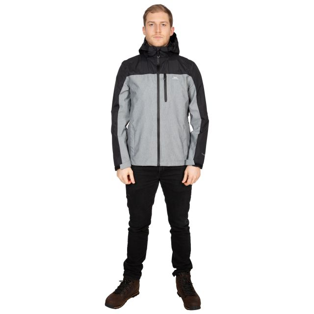 Zakham Men's Waterproof Jacket in Black