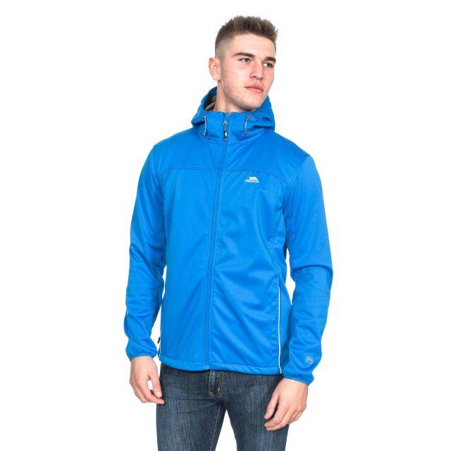 Zeek Men's Softshell Jacket in Blue